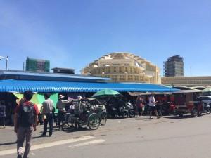 カンボジア セントラルマーケット